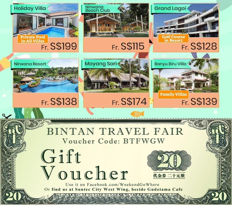 weekend go where _ bintan travel fair